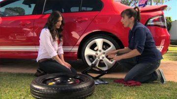 смяна на гума